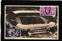 UK-Wembly Stadium,Olympic Games 1948 - Antique Postcard - United Kingdom