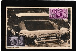 UK-Wembly Stadium,Olympic Games 1948 - Antique Postcard - Altri
