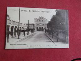 Hendaye - Avenue Des Palmiers - Entrée De L`Hôpital Portugais - Hendaye