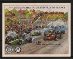 Niger - 1981 - Bloc Feuillet BF N°Yv. 36 - Grand Prix De France - Neuf Luxe ** / MNH / Postfrisch - Automobile