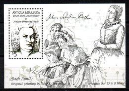ANTIGUA. BF 98 De 1985. Compositeur Bach. - Musique