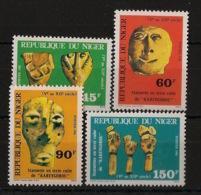 Niger - 1981 - N°Yv. 526 à 529 - Statuettes En Terre Cuite / Terracotta - Neuf Luxe ** / MNH / Postfrisch - Niger (1960-...)