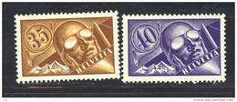 Suisse  -  Avion  -  1923  :  Yv  6-7  *  Papier Ordinaire - Poste Aérienne