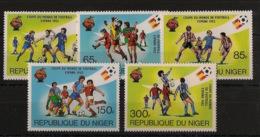 Niger - 1981 - N°Yv. 550 à 554 - Football World Cup / Espana 82 - Neuf Luxe ** / MNH / Postfrisch - Niger (1960-...)