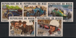 Niger - 1981 - N°Yv. 555 à 559 - Grand Prix De France - Neuf Luxe ** / MNH / Postfrisch - Automobile