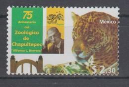MEXICO 1998 75 YEARS ZOOLOGICO CHAPULTEPEC JAGUAR - Félins