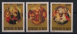Niger - 1981 - N°Yv. 560 à 562 - Noel / Christmas - Neuf Luxe ** / MNH / Postfrisch - Niger (1960-...)