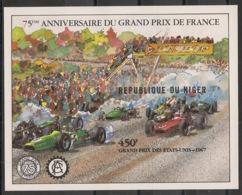 Niger - 1982 - Bloc Feuillet BF N°Yv. 36 - Formula 1 - Non Dentelé / Imperf. - Neuf Luxe ** / MNH / Postfrisch - Automobile