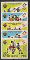 Niger - 1982 - N°Mi. 767 à 771B - Football World Cup Espana 82 - Non Dentelé / Imperf. - Neuf Luxe ** / MNH / Postfrisch - Coupe Du Monde