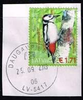 Lettland 2016, Michel # 983 O Great Spotted Woodpecker (Dendrocopos Major) - Lettland