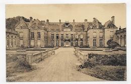 FLAMANVILLE - LE CHATEAU - FACADE PRINCIPALE - FORMAT CPA NON VOYAGEE - France