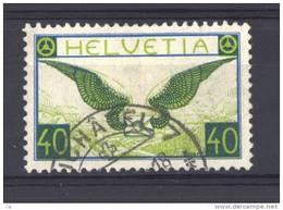 Suisse  -  Avion  -  1929  :  Yv  14a  (o)  Papier Ordinaire               ,       N2 - Oblitérés