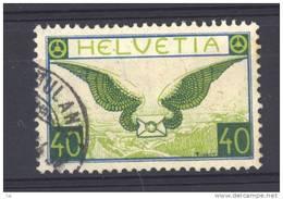 Suisse  -  Avion  -  1929  :  Yv  14a  (o)  Papier Ordinaire               ,       N3 - Oblitérés