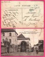 Besançon - Temple Protestant - Marché Couvert - Place Paris - Oblit. 5e Rgt Chasseurs Pied - Animée - Ed. GAILLARD 1915 - Besancon