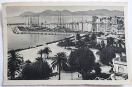 CPA 550 CANNES 1948 LA JETEE ET L ESTEREL CLICHE BELLA - Cannes