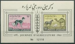 Afghanistan 1961 Tag Der Landwirtschaft Block 8 A Postfrisch (C6751) - Afghanistan