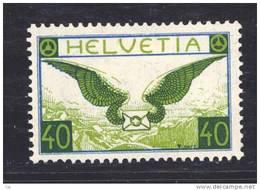 Suisse  -  Avion  -  1929  :  Yv  14a  *  Papier Ordinaire                   ,       N2 - Poste Aérienne