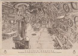 Cartolina Militare In Franchigia Camera Di Manovra Benedici Signore I Sommergibilisti Pnf Ond - Weltkrieg 1939-45