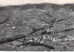 69 - LE PERREON : Vue Aérienne Panoramique - CPSM Dentelée Noir Et Blanc Grand Format - Rhône - Autres Communes