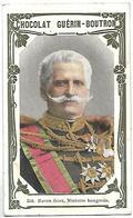 CHROMO - CHOCOLAT GUERIN BOUTRON - 256 - Baron Géra, Ministre Hongrois - Guérin-Boutron