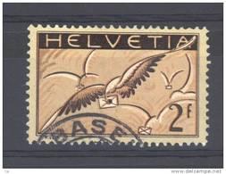 Suisse  -  Avion  -  1929  :  Yv  15b  (o)   Papier Ordinaire - Oblitérés