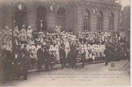 57 - MONTIGNY LES METZ - LES LORRAINES ACCLAMENT LES TROUPES FRANCAISES LE 19.11.1918 - Autres Communes