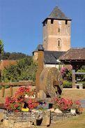 19 Saillac Ancien Moulin A Huile ( église, Meule, Horloge ) - France