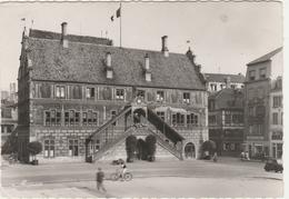 MULHOUSE -   L' HOTEL DE VILLE Avec à Droite Magasin Opticien Edmond HAAS  -   Edition: MARASCO  N° Als.484 - Mulhouse
