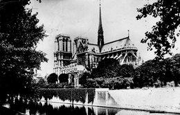 PARIS NOTRE DAMEvue Vers Le Chevet De N.D - Notre Dame Von Paris