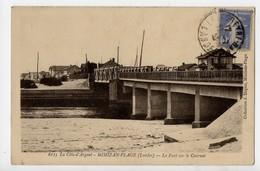 MIMIZAN PLAGE - 40 - Landes - Le Pont Sur Le Courant - Mimizan Plage