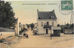 Saint-Germain-des-Fossés : Gendarmerie - Frankreich