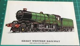 "Great Western Railway ~ King Class No. 6018 "" King Henry VI "" - Eisenbahnen"