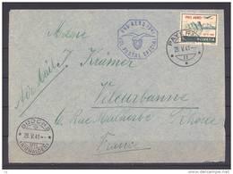 Suisse  -  Avion  -  1941  :  Yv  34A  (o)  FDC - Sonstige Dokumente