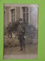 PHOTO Carte Postale MILITAIRE Vers 1914 Soldat Guerre Uniforme / 60 - Krieg, Militär