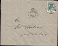 Lettre  Cachet Wilwerwiltz 20.2.1924, Michel: 128 - Luxembourg