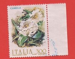 1982 (1593) Fiori Camelia  - Leggi Il Messaggio Del Venditore - 6. 1946-.. Repubblica