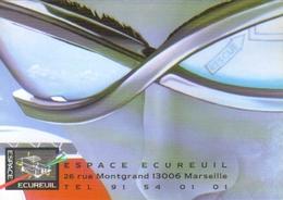 """Carte Postale Double """"Cart'Com"""" - Série Expositions, Salons, Musées - Espace écureuil - Gilles Cornu - Arts"""