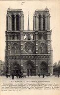 PARIS NOTRE DAME CATHEDRALE - Notre Dame De Paris