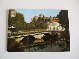 Postcard Postal Torres Novas Castelo E Ponte De Raro - Santarem