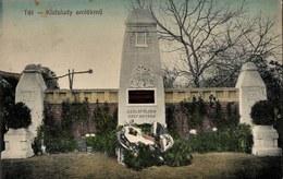 Tét 1913. Circulated - Téth - Gyor - Hungary - Wishing Well - Hongrie