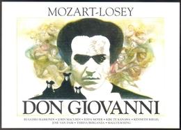 Carte Postale : Don Giovanni (Mozart - Losey) - Illustration Landi (affiche, Film, Cinéma) - Plakate Auf Karten