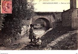 77 . Seine Et Marne .  Fontaine Le Port : Pont  Sur Le Ru . - France