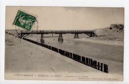 MIMIZAN Les BAINS - 40 - Landes - Passerelle Sur Le Courant - Mimizan Plage
