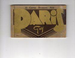 PARIS  CARNET 11 CARTES (MANQUE 1) - France