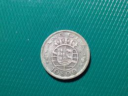 10 Escudos  Angola 1952  Silver - Portugal
