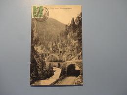 Davos - Filisur Bahn - Brombergviadukt 1911 (5134) - GR Grisons