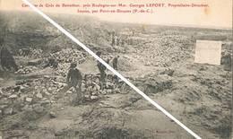 BAINCTHUN (Pas De Calais) - Carrières De Grès - Mr.Georges Lefort, Propriétaire-directeur - Animée - Francia