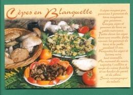Cepes En Blanquette Recette ( Champignons , Tomates , Pomme De Terre ) - Recettes (cuisine)