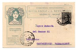 BOLOGNA  STABILIMENTO TIPO-LITOGRAFICO DITTA PAOLO E C. BEVILACQUA   1928 - Bologna