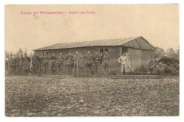 Camp De PHILIPPEVILLE - Entrée Du Camp. Oblitérations Silenrieux Et Philippeville 1920. - Casernes